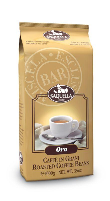 Oro Miscela zrnková káva Saquella